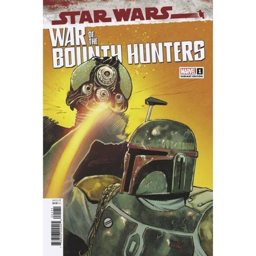 STAR WARS WAR BOUNTY HUNTERS #1 (OF 5) PICHELLI VAR