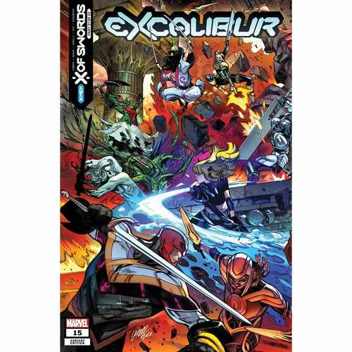 EXCALIBUR #15 LARRAZ CONNECTING VAR XOS