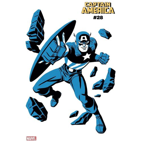 CAPTAIN AMERICA #28 MICHAEL CHO CAPTAIN AMERICA TWO-TONE VAR