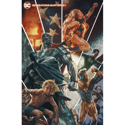 GENERATIONS SHATTERED #1 (ONE SHOT) CVR B LEE BERMEJO VAR