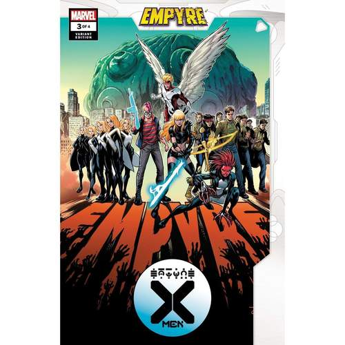 EMPYRE X-MEN #3 (OF 4) TO VAR