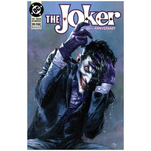 THE JOKER 80TH ANNIVERSARY 100-PAGE SUPER SPECTACULAR #1 1990S VARIANT COVER BY GABRIELE DELL'OTTO