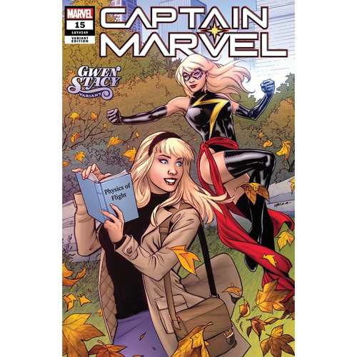 CAPTAIN MARVEL 15 LUPACCHINO GWEN STACY VAR