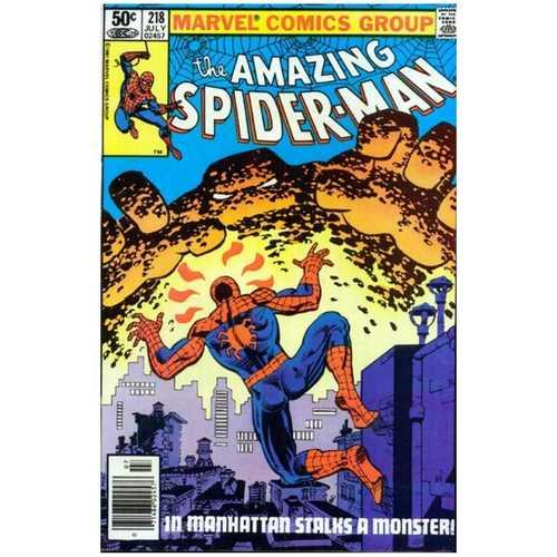AMAZING SPIDERMAN #218