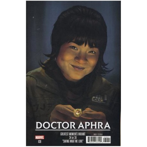 STAR WARS DOCTOR APHRA 39 RAHZZAH GREATEST MOMENTS VAR