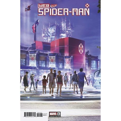 WEB OF SPIDER-MAN #1 (OF 5) ATTRACTION VAR