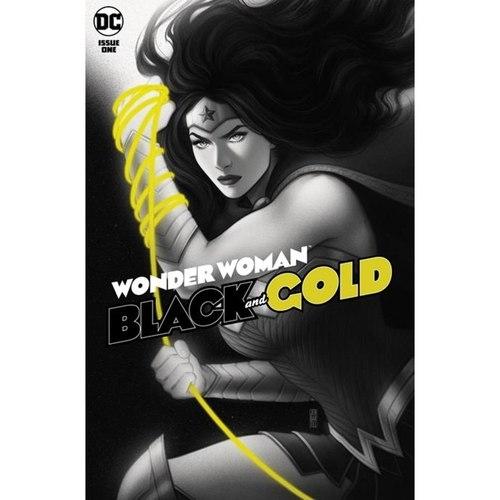WONDER WOMAN BLACK & GOLD #1 (OF 6) CVR A JEN BARTEL
