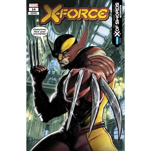 X-FORCE #14 FERREYRA VAR XOS