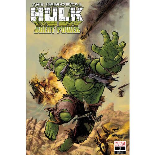 IMMORTAL HULK GREAT POWER 1 FIUMARA VAR