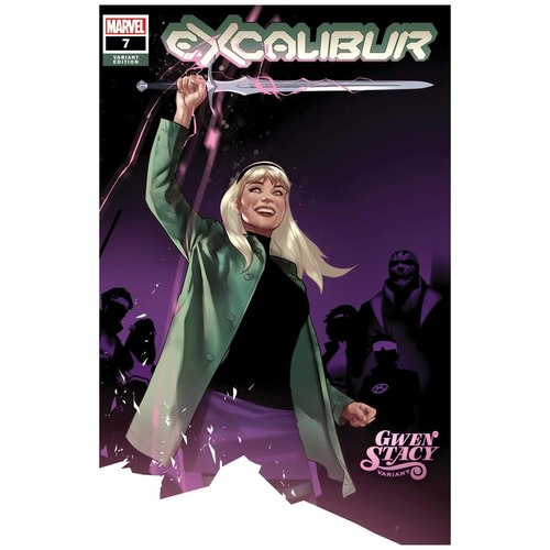 EXCALIBUR 7 OLIVER GWEN STACY VAR DX