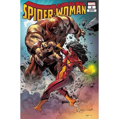 SPIDER-WOMAN #2 HAWTHORNE VILLAIN VAR