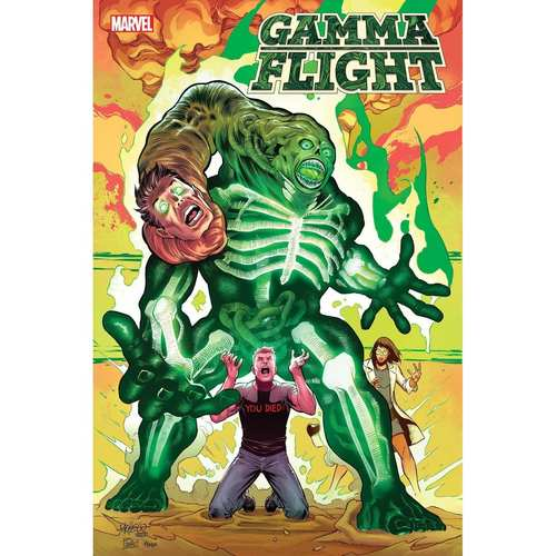 GAMMA FLIGHT #3 (OF 5) PACHECO CONNECTING VAR