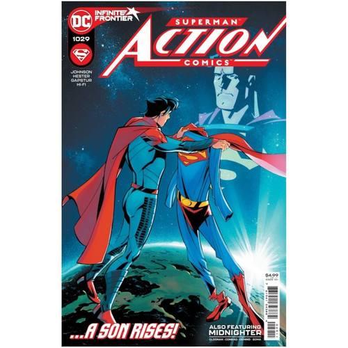 ACTION COMICS #1029 CVR B JULIAN TOTINO TEDESCO VAR