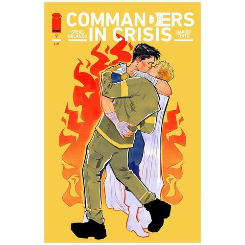 COMMANDERS IN CRISIS #9 (OF 12) CVR B CIMORONI