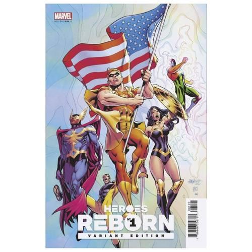 HEROES REBORN #1 (OF 7) PACHECO SQUADRON SUPREME VAR