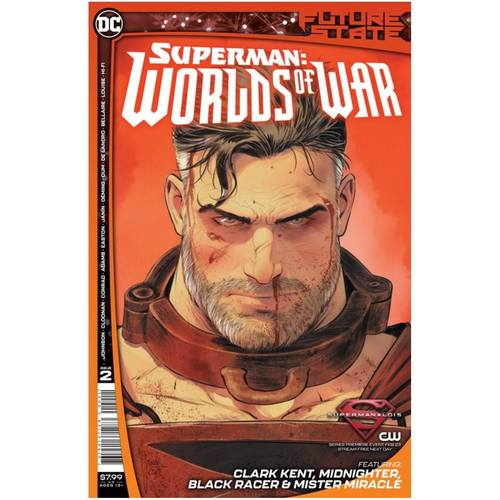 FUTURE STATE SUPERMAN WORLDS OF WAR 2 OF 2 CVR A MIKEL JANIN