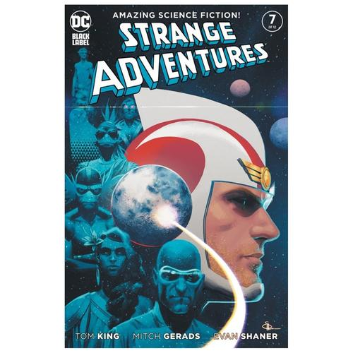 STRANGE ADVENTURES #7 (OF 12) CVR B EVAN DOC SHANER VAR (MR)