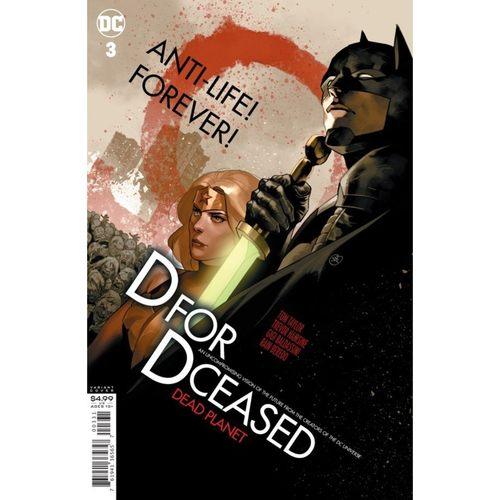 DCEASED DEAD PLANET #3 (OF 7) CVR C YASMINE PUTRI MOVIE HOMAGE CARD STOCK VAR