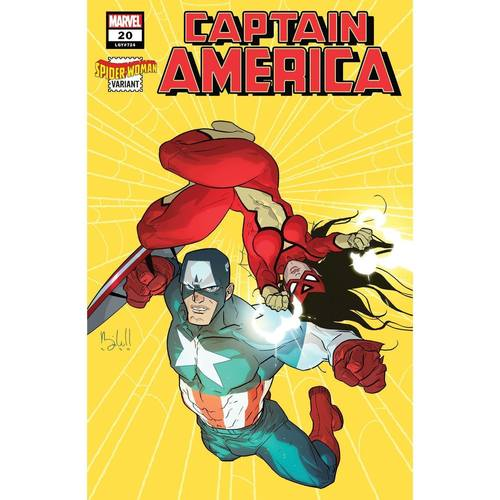 CAPTAIN AMERICA 20 CALDWELL SPIDER-WOMAN VAR