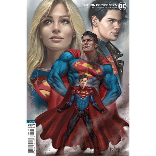 ACTION COMICS #1026 CVR B LUCIO PARRILLO VAR