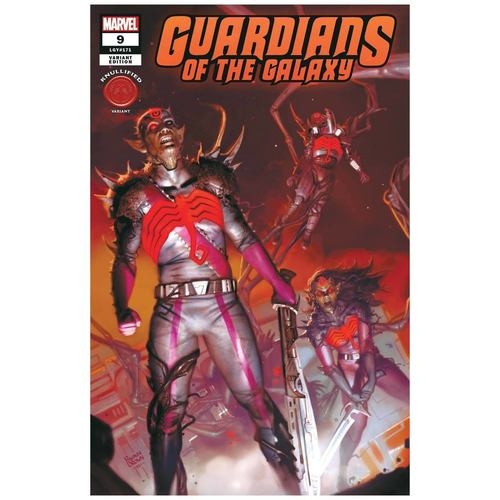 GUARDIANS OF THE GALAXY 9 BROWN KNULLIFIED VAR