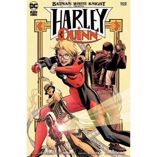 BATMAN WHITE KNIGHT PRESENTS HARLEY QUINN #4 (OF 6) CVR A SEAN MURPHY (MR)