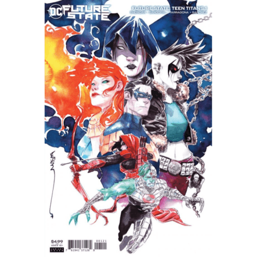 FUTURE STATE TEEN TITANS #1 (OF 2) CVR B DUSTIN NGUYEN CARD STOCK VAR