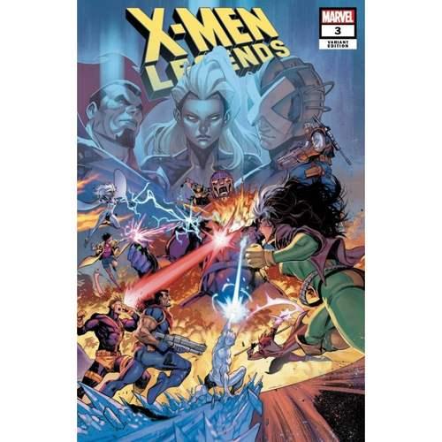 X-MEN LEGENDS #3 COELLO CONNECTING VAR