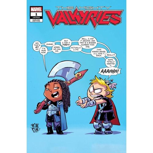 MIGHTY VALKYRIES #1 (OF 5) YOUNG VAR