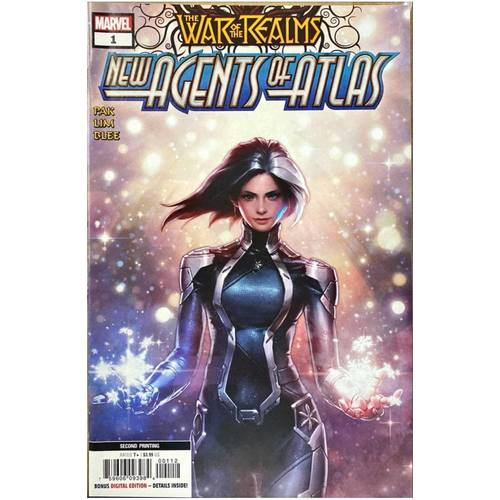 NEW AGENTS OF ATLAS #1 2ND PRINT NM CONDITION