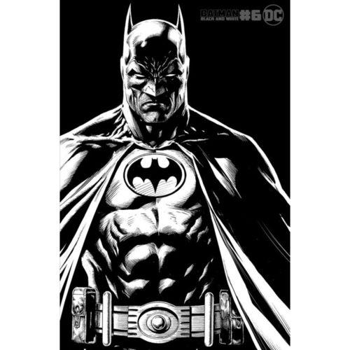 BATMAN BLACK AND WHITE #6 (OF 6) CVR B JASON FABOK VAR