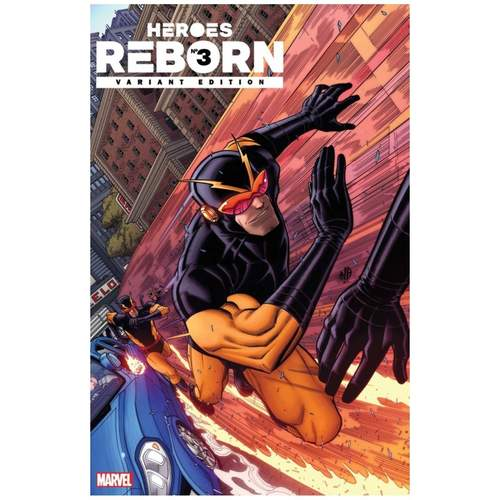 HEROES REBORN #3 1:25 Bradshaw Variant