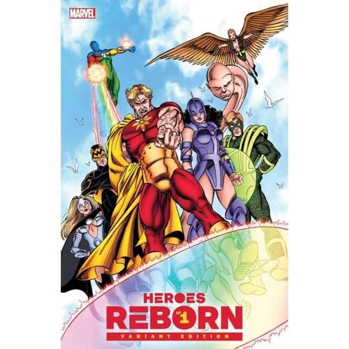HEROES REBORN #1 1:100 George Perez Hidden Gem Variant