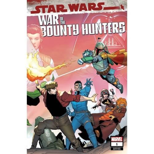 STAR WARS WAR BOUNTY HUNTERS #1 (OF 5) CAMUNCOLI WRPAD VAR