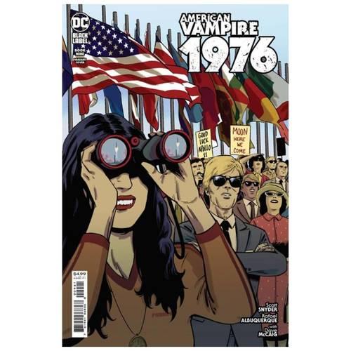 AMERICAN VAMPIRE 1976 #9 (OF 10) CVR B JORGE FORNES CARD STOCK VAR (MR)