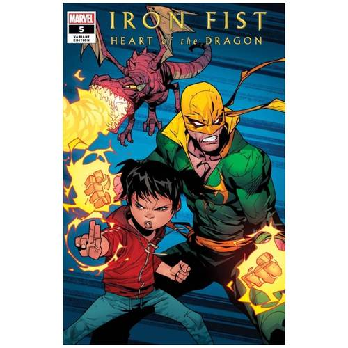 IRON FIST HEART OF DRAGON #5 (OF 6) PETROVICH VAR