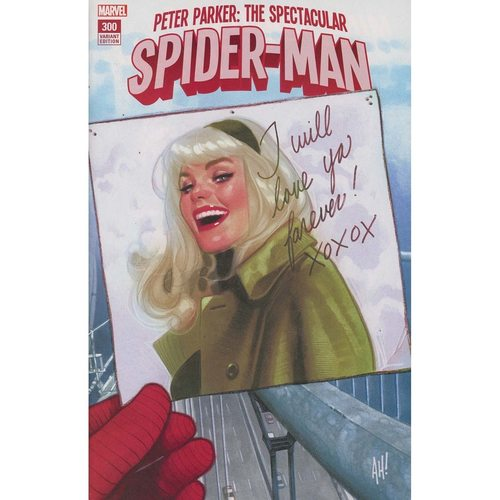 Peter Parker Spectacular Spider-Man #300 Adam Hughes Variant Cover