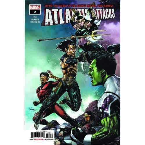 ATLANTIS ATTACKS 2 OF 5