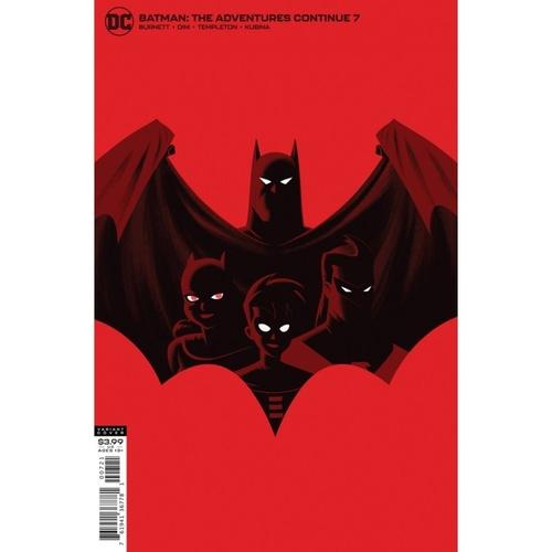 BATMAN THE ADVENTURES CONTINUE #7 (OF 8) CVR B JUSTIN ERICKSON VAR