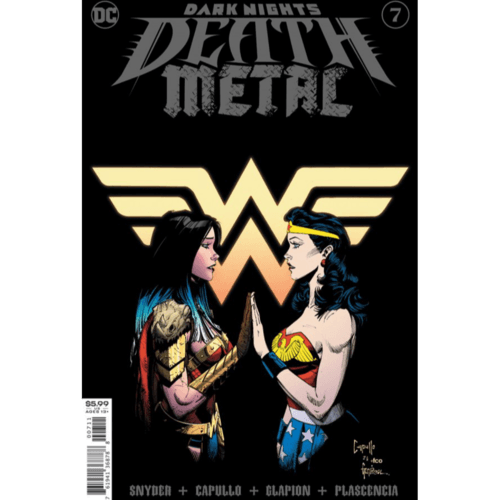DARK NIGHTS DEATH METAL #7 (OF 7) CVR A GREG CAPULLO FOIL EMBOSSED
