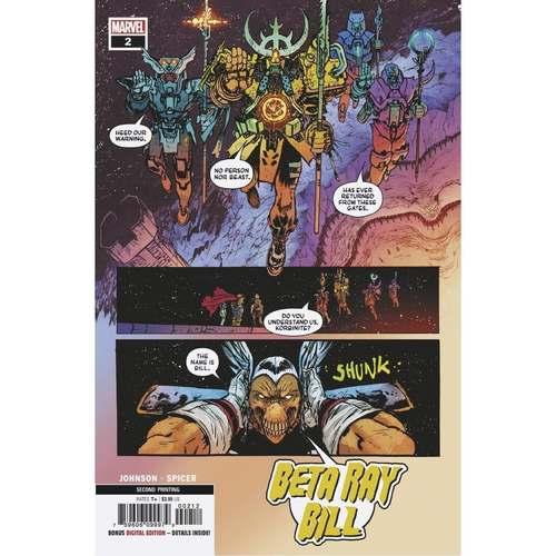 BETA RAY BILL #2 (OF 5) 2ND PTG JOHNSON VAR