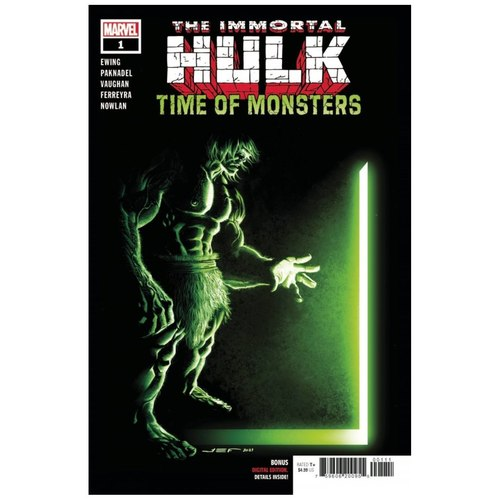 IMMORTAL HULK TIME OF MONSTERS #1