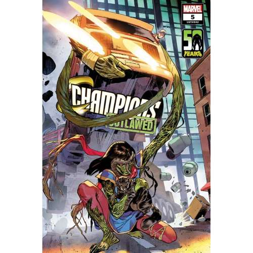 CHAMPIONS #5 PICHELLI MS MARVEL-THING VAR