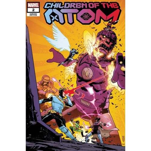 Children of the Atom #2 1:25 Mike Henderson Variant