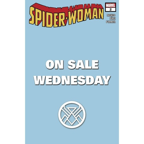 SPIDER-WOMAN #2 MARVEL WEDNESDAY VAR