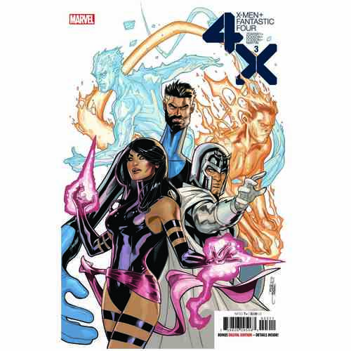 X-MEN FANTASTIC FOUR 3 OF 4