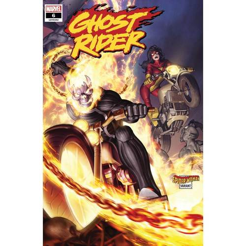 GHOST RIDER 6 YOON SPIDER-WOMAN VAR