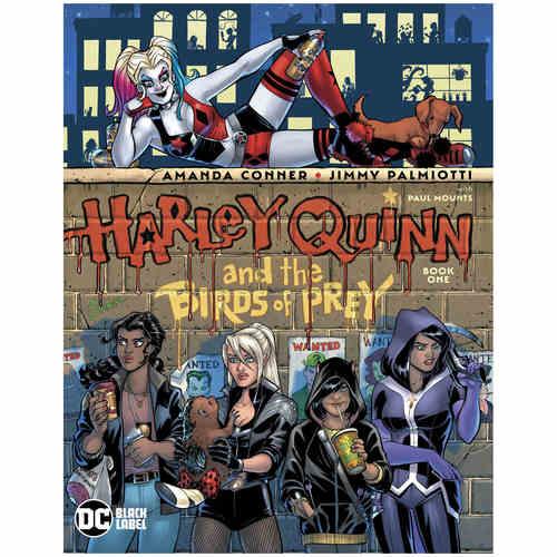 HARLEY QUINN & BIRDS OF PREY 1 OF 4 MR
