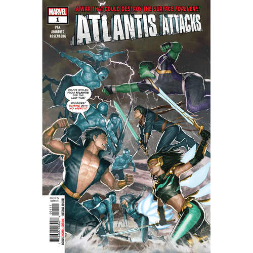 ATLANTIS ATTACKS 1 OF 5