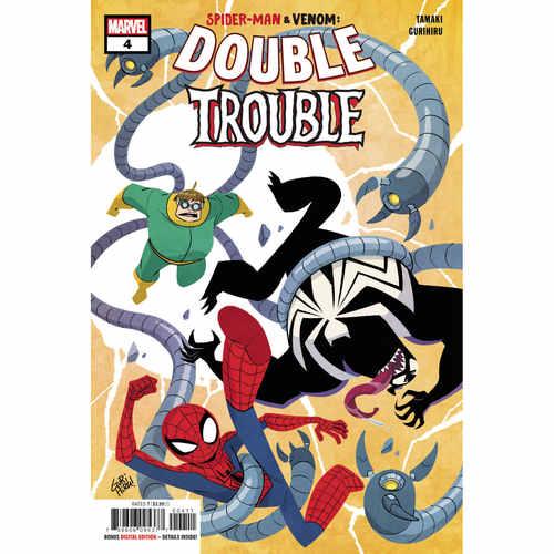 SPIDER-MAN & VENOM DOUBLE TROUBLE 4 OF 4